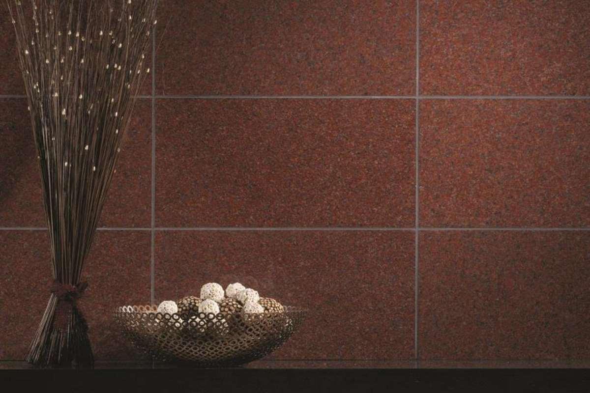 granitfliser brugt som vægfliser