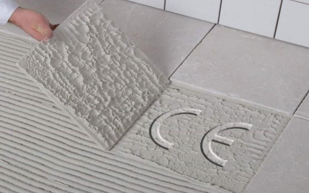 Lægning af gulvklinker eller opsætning af vægfliser