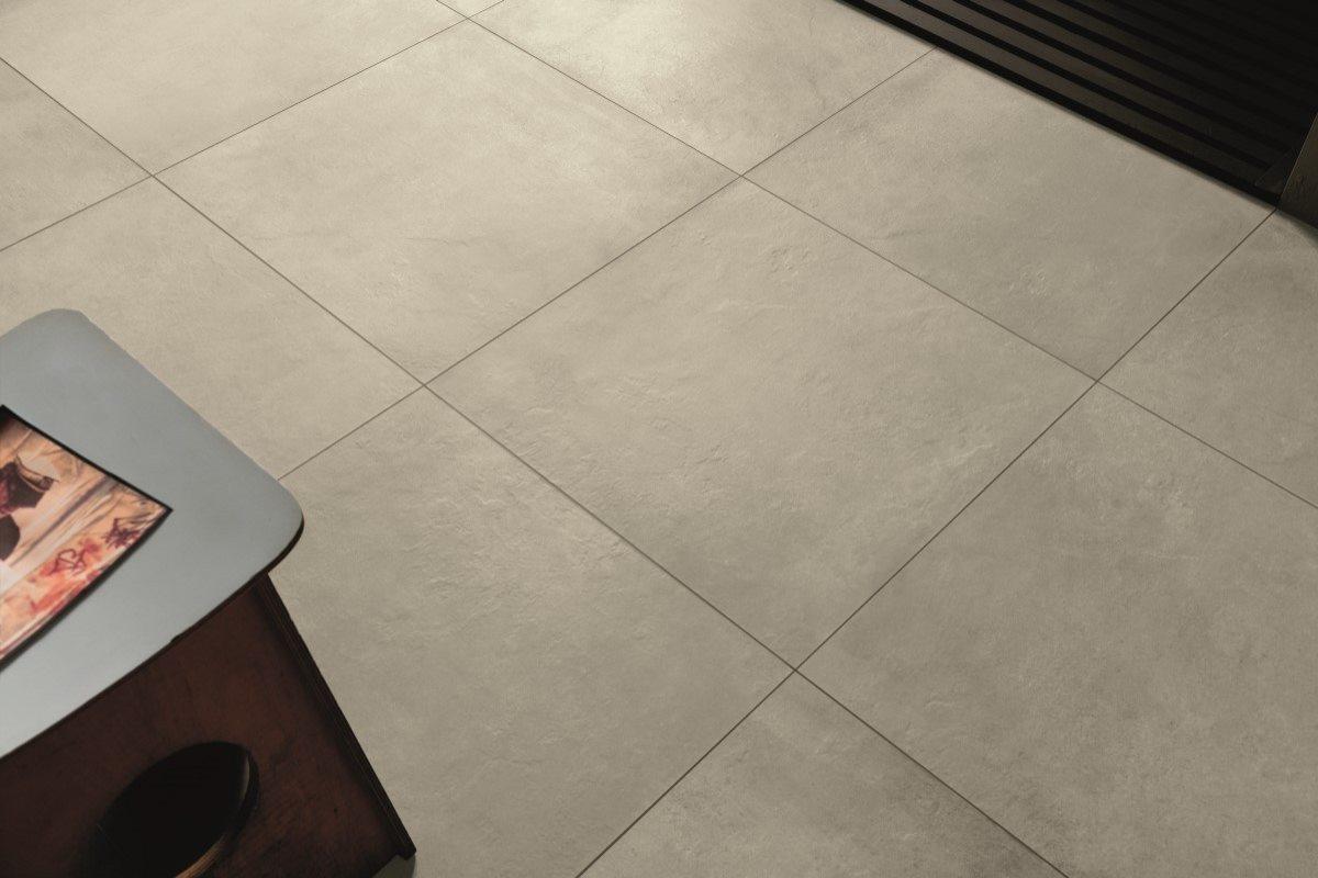 Gulvklinker med betonlook, til indendørs og udendørs
