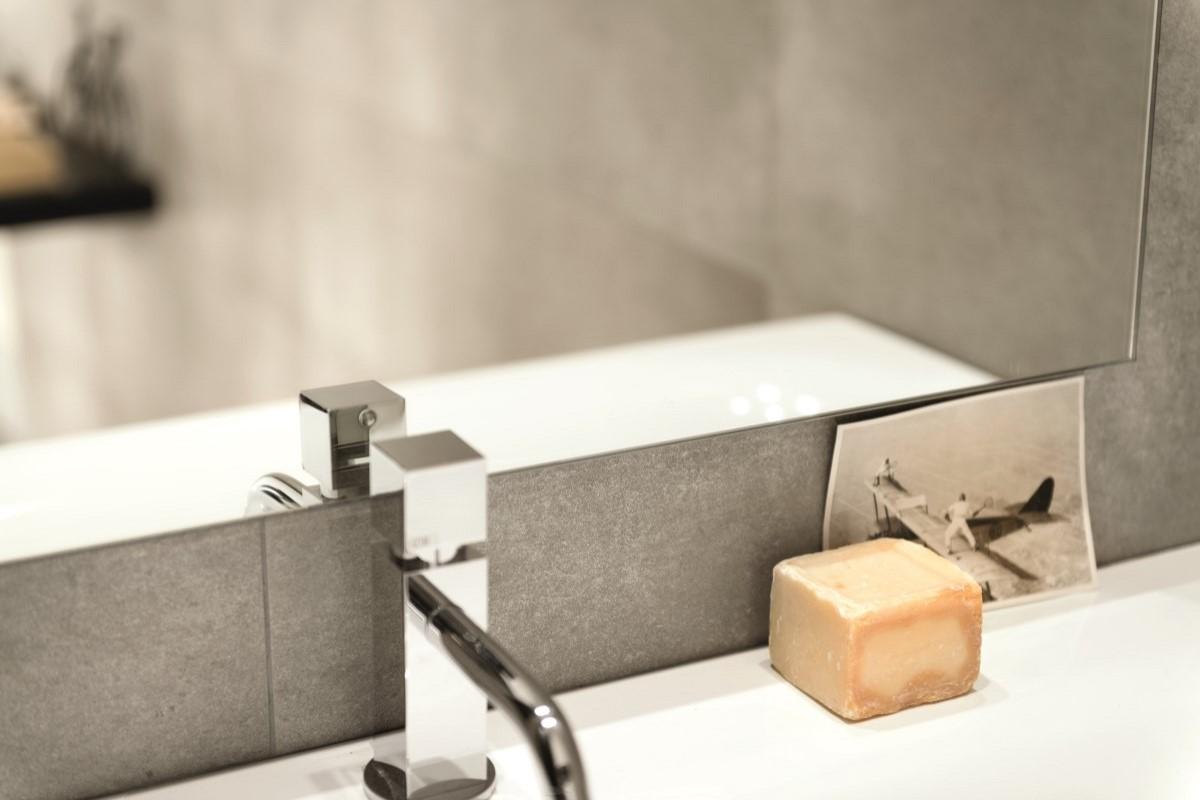 Fliser med cement look i New Yorker stil, velegnet som vægfliser