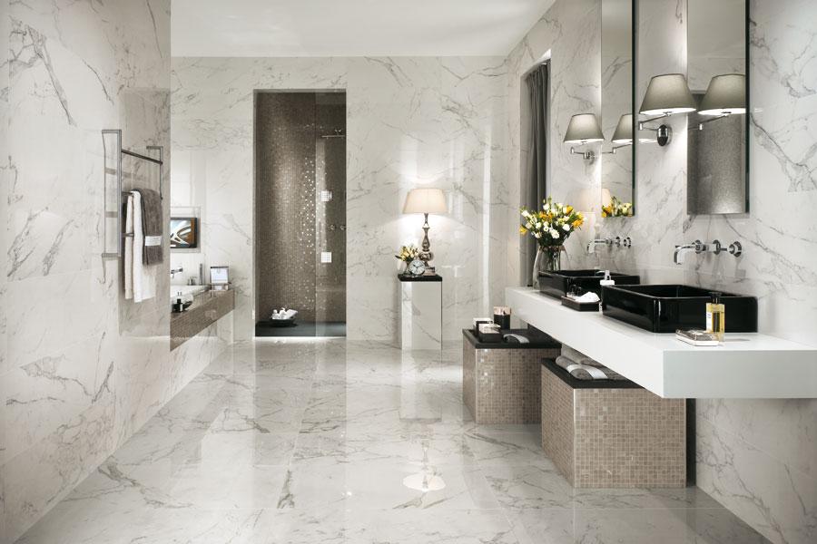 Syrefast Italiensk marmor til væg eller gulv