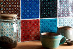 Patchworkfliser i flot mix farver