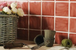 10 x 10 mat glaserede vægfliser til dit udekøkken