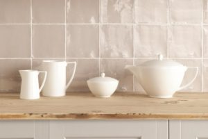 Glaserede keramiske køkken fliser