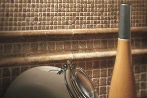 mosaikfliser til over køkkenbordet