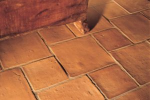 Tegl klinker til køkken gulv