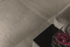 Klinker med cement look til også til badeværelse, nem rengøring