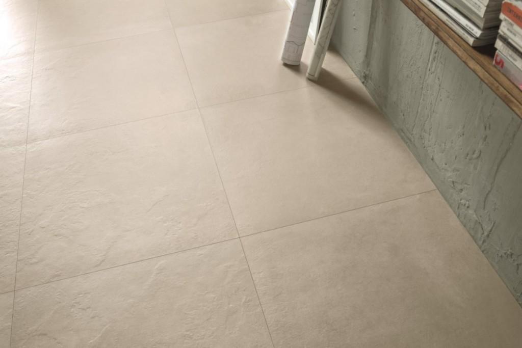 Groovy gulvklinker-i-raat-beton-look | Flisestudiet - en verden af NA46