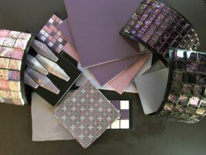 Ultraviolette badeværelsesfliser til gulv og væg